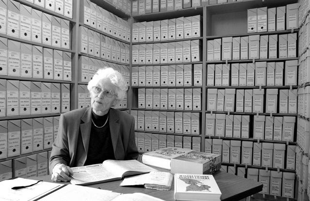 Marte Gosteli. Foto: Valérie Chételat, Gosteli-Archiv.